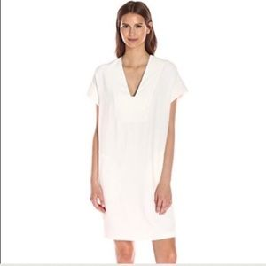Vince Rolled Sleeve Popover dress